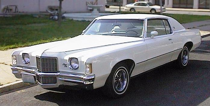 1972 Pontiac Grand Prix Model 'J'